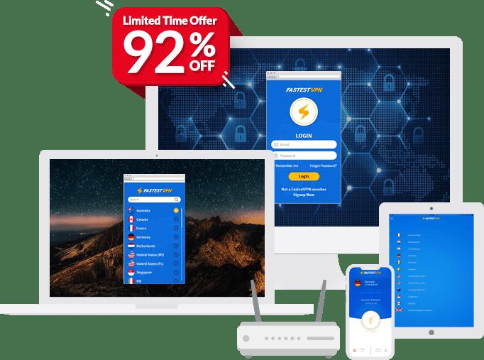 FastestVPN: World's Best and Fastest VPN Service Provider